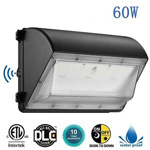 60w Led Wall Pack With Photocell Dusk To Dawn Led Outdoor Lighting Ip65
