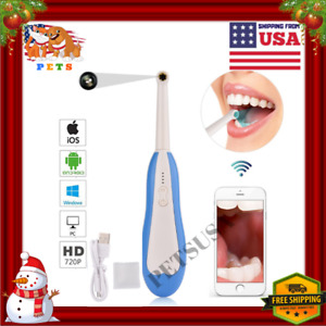 Hd Oral Dental Wifi Intraoral Camera Scanner Endoscope Wireless Led Ios Android