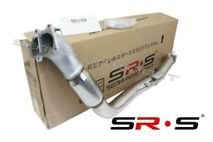 Srs 3 Cast Iron Flange Bell Mouth Divorced Downpipe Catless For 02 07 Wrx Sti