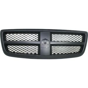 Grille For 2011 2012 Ram 1500 2009 2010 Dodge Ram 1500 Black Plastic