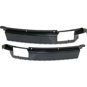 Bumper Bracket Set For 2013 2016 Ford Fusion Side Cover Front Plastic 2pc