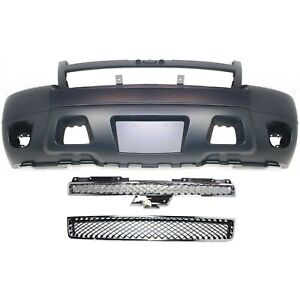 Bumper Cover Kit For 2007 2014 Tahoe Models With Fog Light Holes Front 3pc