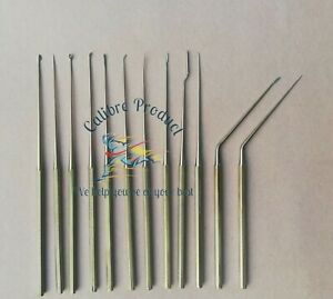 Shea Ear Operation Micro Repositor Set Of 12 Pcs Surgical ent And Neurosurgical