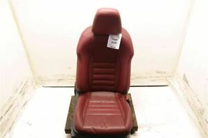 Red Passenger Fr Leather Bucket Seat Air Bag Electric Fits 14 15 Lexus Is250 Oem
