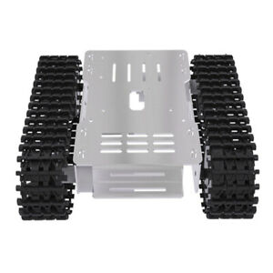 Metal Robotic Tank Chassis Kit W Motor For Education Competition