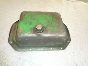 John Deere 420 430 440 Crawler Tractor Engine Oil Pan With Drain Plug