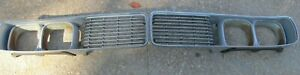 73 74 1973 1974 Dodge Charger Ralley Se Front Grille Pair Very Nice
