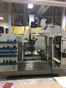 Used Fadal Vmc 4020ht Cnc Vertical Mill 1993 40 20 20 Fourth Axis Box Ways