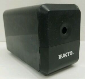 X acto Electric Pencil Sharpener Desk Office School 18xxx Cn 120v Black