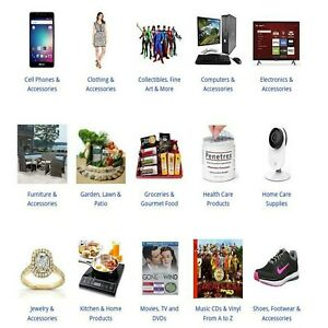 Amazon Affiliate Online Newbie Website Home Business No Niche Sell Everything