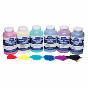 Eastwood 6 Piece 8 Oz Powder Standard Multi Color Sample Coating Kit Standard