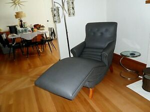 Vintage Contour Chair Lounger Mid Century Modern Chaise Lounge Chair Rare