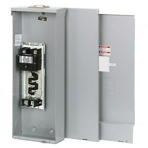 200 Amp Load Center Main Breaker Eaton Panel Electrical 8 circuit 4 space Switch