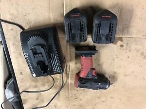 Snap On Ct4410a 14 4v 3 8 Drive Cordless Impact Wrench W 2 Batteries Charger
