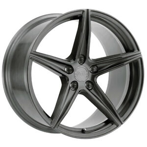 Staggered xo Auckland F 22x9 r 22x10 5 5x4 5 25mm Brushed Gunmetal Wheels Rims
