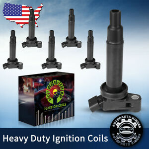 6 Pack Of Uf267 Ignition Coils For Toyota Camry Avalon Lexus Es300 Rx300 3 0l V6