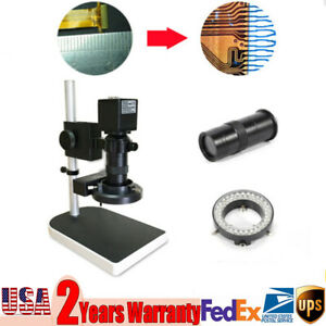 16mp Image Sensor C mount Lens Industrial Electronic Digital Microscope Sets