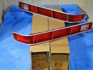 1971 Pontiac Gto Lemans Tail Light Lamp Lenses Nos