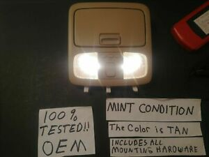 oe 02 06 Toyota Camry 03 05 4runner Overhead Console Sunroof Switch Dome Light