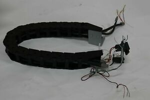 Tsubaki Tkp0320 2b Cable Carrier About 23 Robot Cnc Lab 3d Printer Flexible