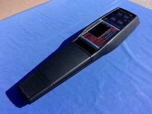 New 1969 Camaro 4 Speed Console With Gauges Gm Licensed And Assembled