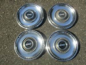 Factory 1968 Buick Skylark Special 14 Inch Hubcaps Wheel Covers