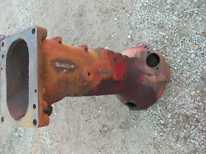 Farmall Super A Sa Tractor Ih Ihc Main Transmission Torque Tube Housing 351687r4