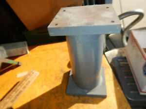 Riser Pedestal From A Machine Shop Machinist Tooling Jig Fixture