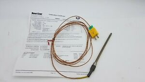 Temprel Thermocouple Probe T26su6kesle120 2f Wire K20 2 305 New Surplus
