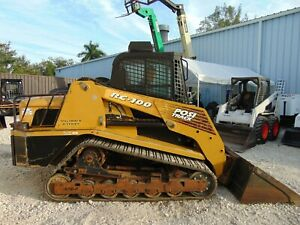 2006 Asv Rc 100 cat 2 Speed high Flow Air Conditioned Heated New Tracks