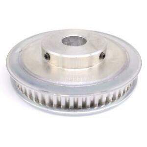 1pc Xl 60t Timing Belt Pulley Synchronous Wheel 19mm Bore For 10mm Width Belt