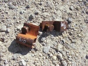 Allis Chalmers Wd Wd45 Tractor Ac Original Clips To Hold Hand Crank Tu Fender b