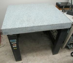 Tmc Micro g High Performance Vibration Isolation Table Model 63 530 Granite Top