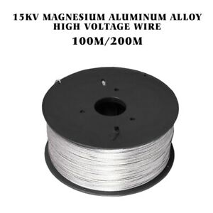 200 Meter 15kv Magnesium Aluminum Alloy High Voltage Wire Electric Fence Roll