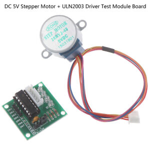 1set Uln2003 Driver Test Module Board 28byj 48 dc 5v Stepper Motor For Arduino