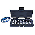 Cornwell Tools Blue Power Cbpu2 3 8 Drive Sae 6 Point 7 Pc Universal Socket Set