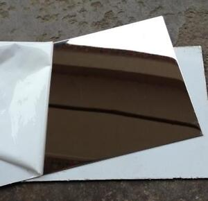 Us Stock 4pcs 0 5mm X 5 X 5 304 Stainless Steel Mirror Polished Plate Sheet