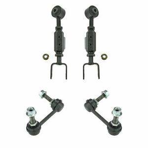 4 Piece Suspension Kit Rear Upper Control Arms Sway Bar Links For Honda Cr V New