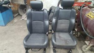 Dodge 1500 Pickup Front Seat Set W O Air Bag Bucket Leather Manual