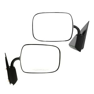 Mirror For 88 99 Gmc C1500 Set Of 2 Driver And Passenger Side