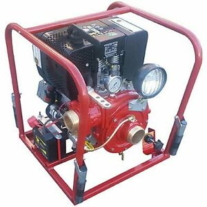 Cet 275 Gpm 2 1 2 Electric Start Diesel Water Pump W Hatz Engine