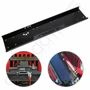 36 Universal Recovery Winch Mounting Plate 13000lb Mount Bracket Truck Trailer