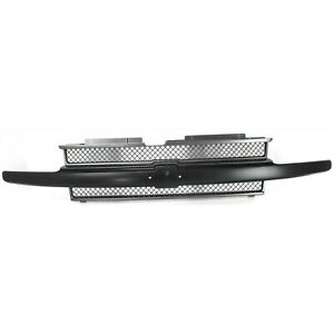 10358121 New For Chevrolet Trailblazer Front Grille Black Gray Gm1200470