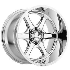 20 Inch Hostile H105 Exile 20x12 6x135 44mm Pvd Chrome Wheel Rim