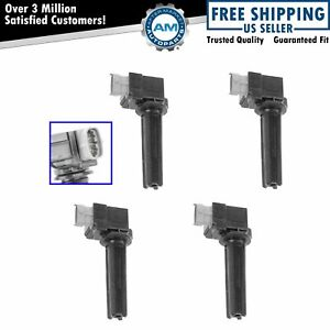 Ignition Coil Pack Set Of 4 For 04 07 Chevy Cobalt Ss Saturn Ion Red Line 2 0 Sc