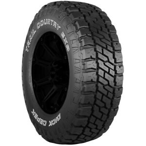 2 lt265 75r16 Dick Cepek Trail Country Exp 123 120q E 10 Ply White Letter Tires