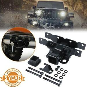 2 Class 3 Tow Trailer Receiver Hitch Rear For 2018 2019 Jeep Wrangler Jl Jlu