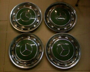 1965 Mercedes 230 Sl Wheel Cover Hub Caps Also Fit 1967 81 280 Set Of 4