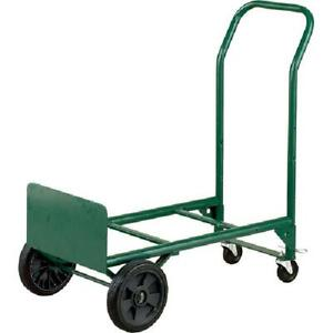 Convertible 2 in 1 Hand Truck And Dolly 400 Lb Capacity