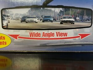 Panoramic Rearview Mirror As Seen On Tv No More Blind Spots Wide Angle View New